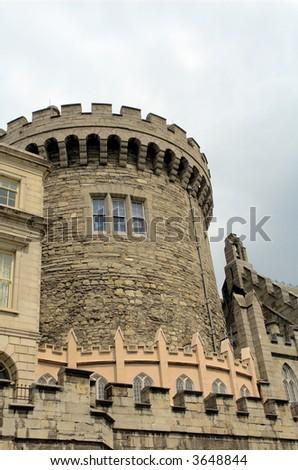 Dublin Castle 3 - stock photo