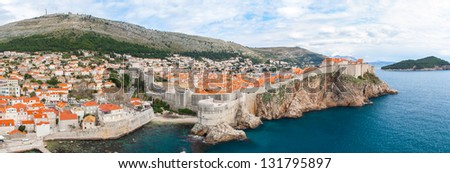 Dubrovnic - stock photo