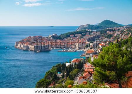 Dubrovnik , Croatia - stock photo
