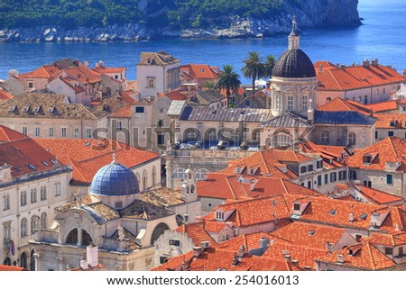 Dubrovnik Old Town With