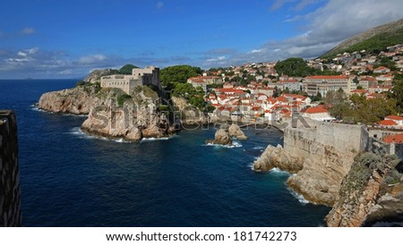Dubrovnik Own Town - stock photo