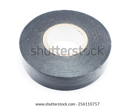 duct tape on a white background - stock photo