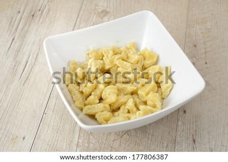 dumplings for goulash - stock photo