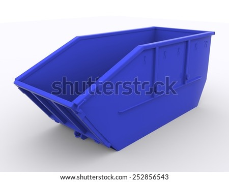 Dumpster Container - stock photo