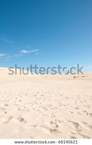 Dunas de fuerteventura - stock photo