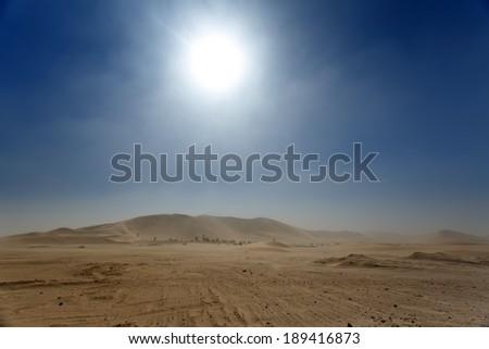 Dune 7 in Namib Desrt, Namibia, Africa - stock photo