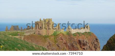 Dunnottar Castle, Scotland - stock photo