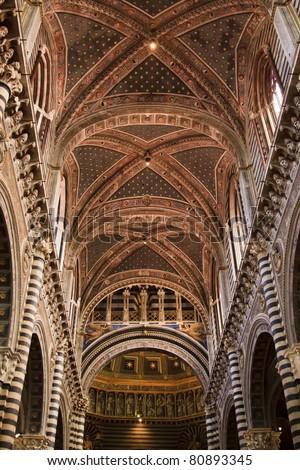 Duomo di Siena, Italy - stock photo