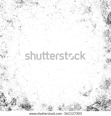 Dust particle on white background, Dust grain texture, dirt overlay, Grunge background. - stock photo