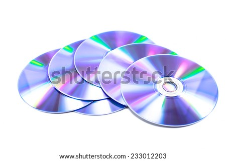 dvd - stock photo