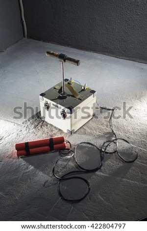 dynamite - stock photo
