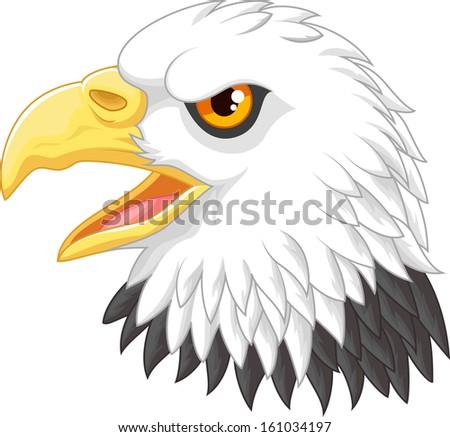 Eagle head mascot  - stock photo