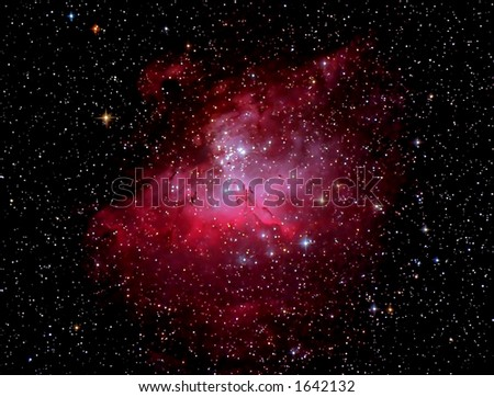 Eagle Nebula - stock photo
