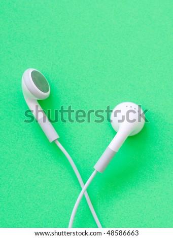 Ear buds - stock photo