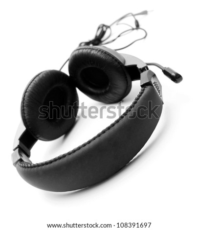 Ear-phones. - stock photo