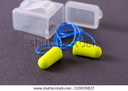 Ear Plugs - stock photo