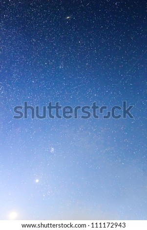 early morning sky background - stock photo