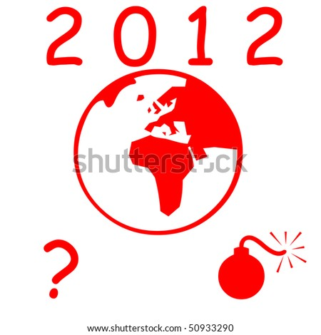 Earth 2012 - stock photo
