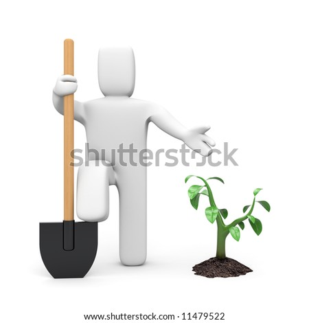 Earth day concept - stock photo