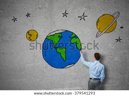 Earth planet - stock photo