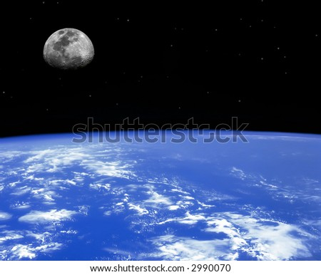 Earth Series - images depicting panoramic scenic shots of our planet - stock photo