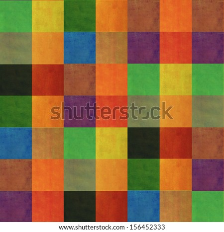 Earthy geometric background image and useful design element - stock photo