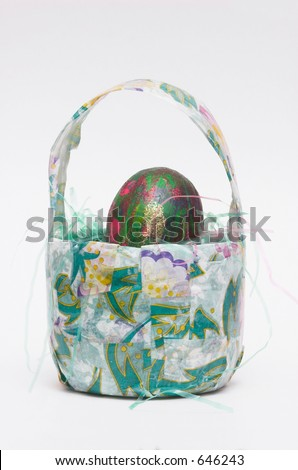 Easter Egg Arts and Crafts - stock photo