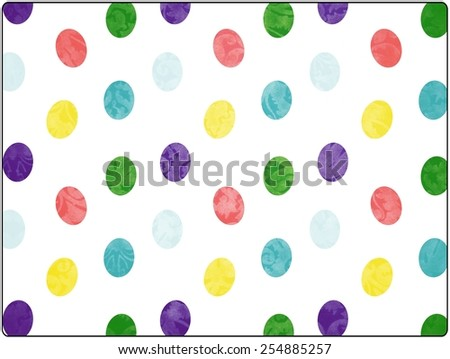 easter pattern - stock photo