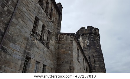 Eastern State Penitentiary  - stock photo