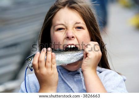 Eat Sushi - stock photo