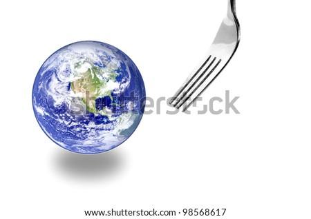 Eating - stock photo
