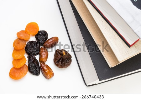 Eating Healthy for Learning - stock photo