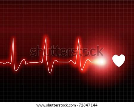 ECG Electrocardiogram - stock photo