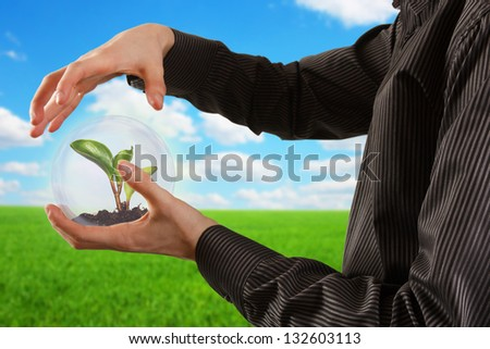 eco concept. - stock photo