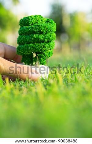 Eco energy concept - stock photo
