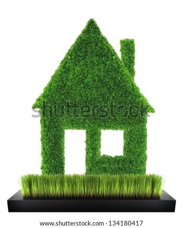 Eco green home concept - stock photo