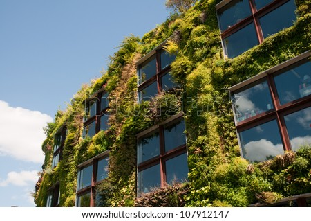 Eco office - stock photo