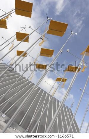 eco power - stock photo