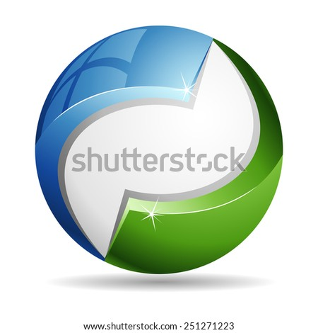 Eco Sphere - stock photo