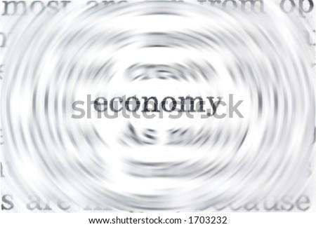 Economy concept - stock photo