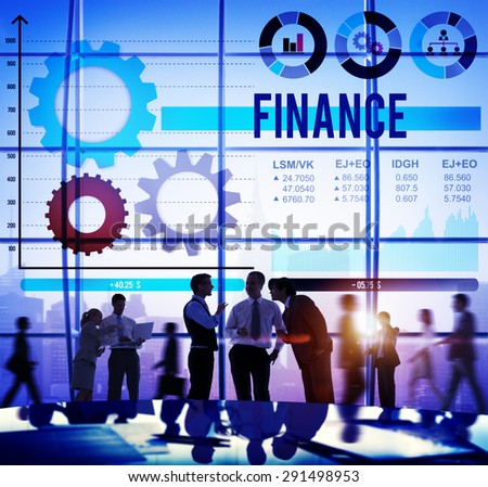 Economy Economic Global Business Financial Concept - stock photo