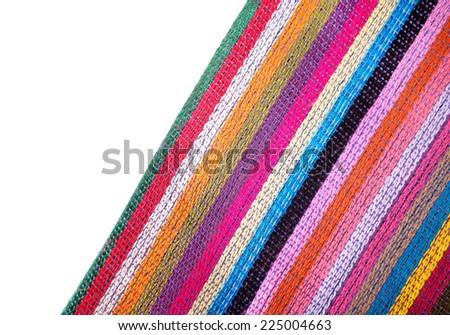 Ecuadorian textile - stock photo