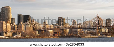 Ed Koch Queensboro Bridge, New York, United States - stock photo