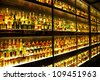 EDINBURGH, SCOTLAND - JULY 10:  Diageo Claive Vidiz collection with 3384 scotch whiskies, the largest Scotch Whisky collection in the world on July 10, 2012 in Edinburgh, Scotland, UK - stock photo