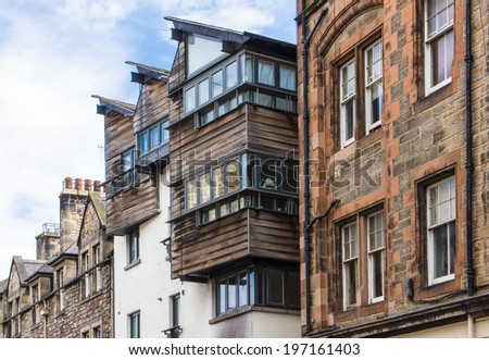 Edinburgh, Scotland, UK  - stock photo