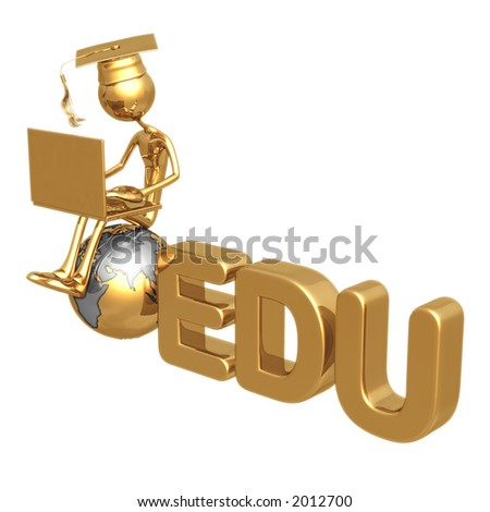 EDU - stock photo