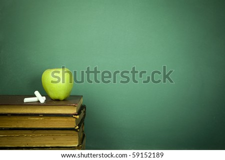 Education concept, toned and soft focus image - stock photo