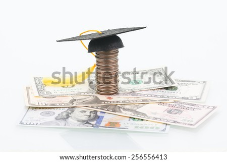 Education costs - stock photo