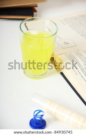 Education diet supplement concept - stock photo