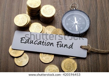 Education Fund, financial concept - stock photo